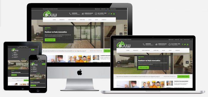 bouw website met wordpress