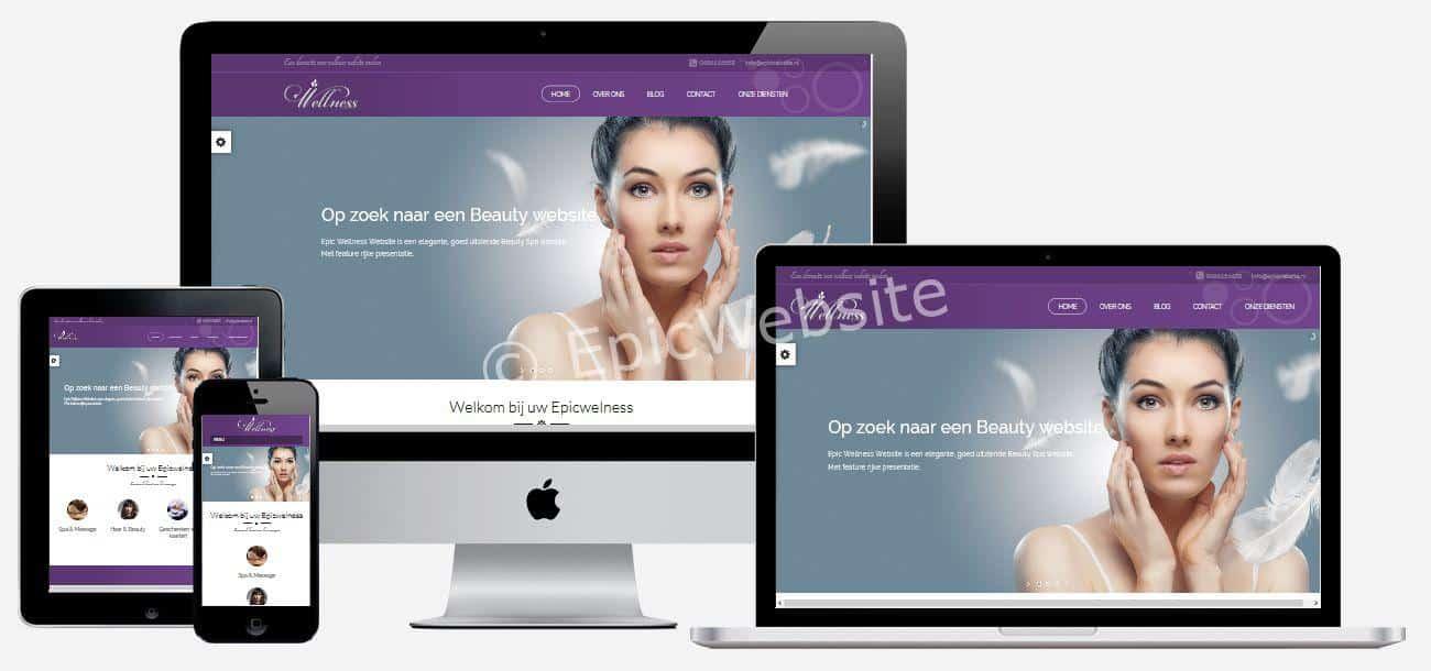 wellness website laten maken