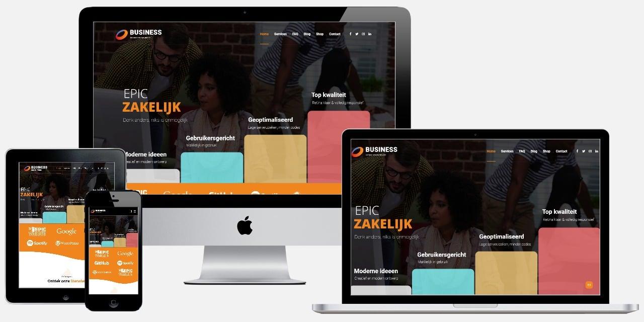 zakelijke website laten maken