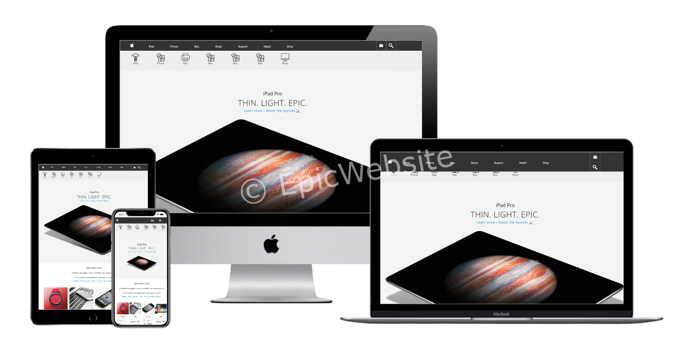 apple site maken 1