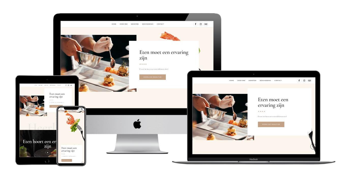 catering website laten maken 3