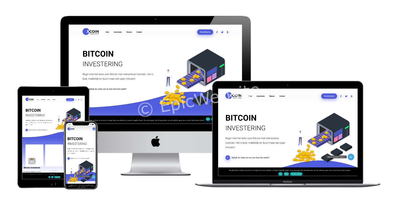 cryptocurrency website laten maken 1