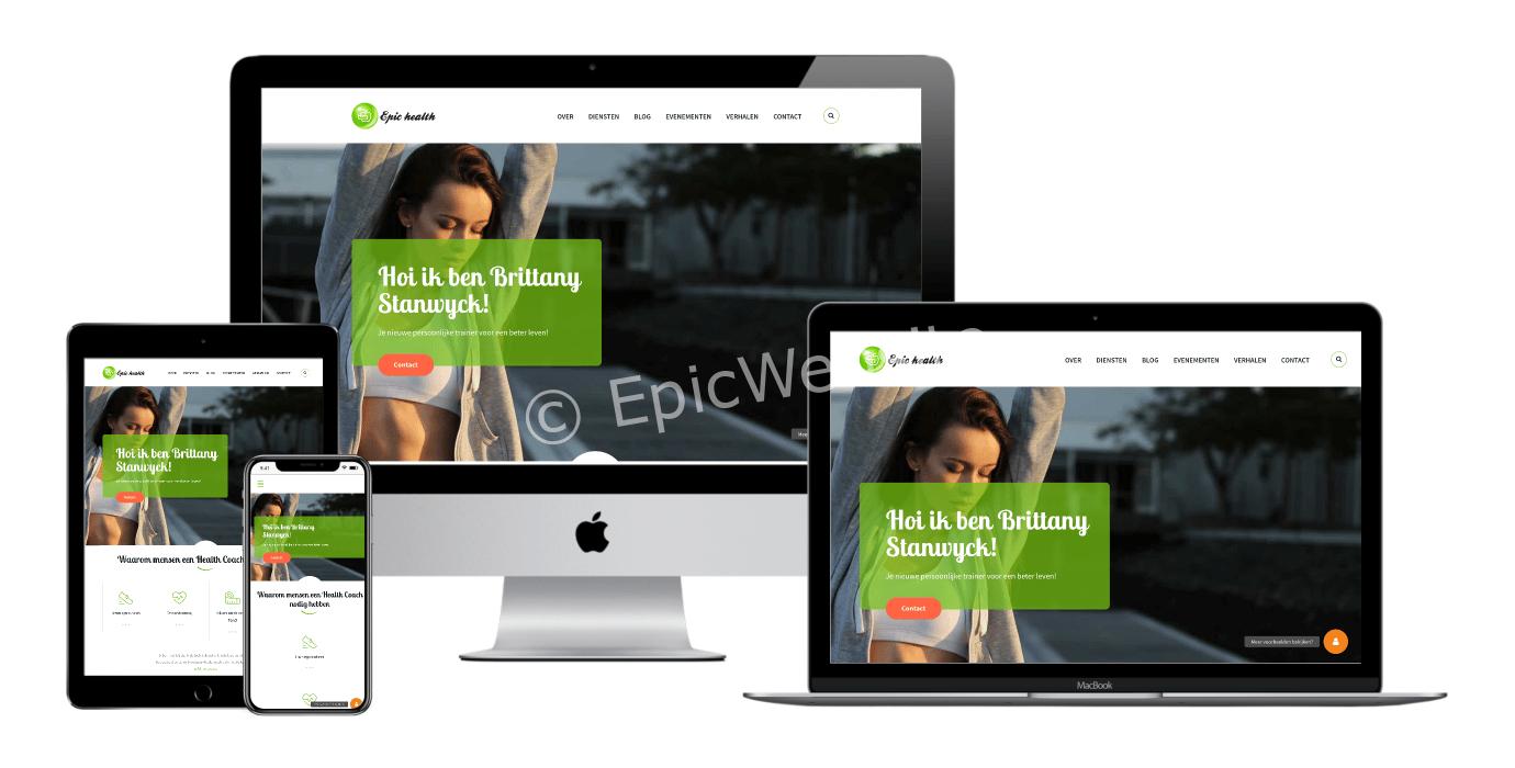 health coach websites laten maken 1