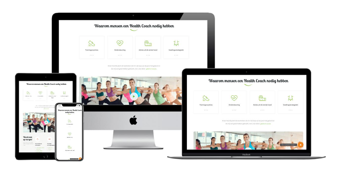health coach websites laten maken 2
