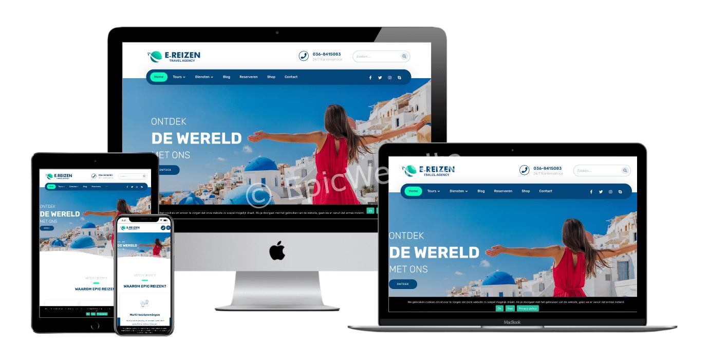 reizen website laten maken 1