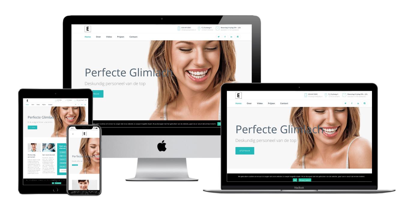 tandarts website laten maken 1