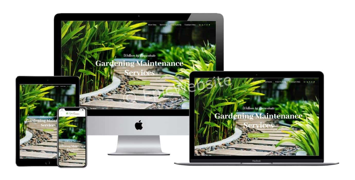 tuinieren website laten maken 1