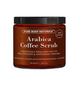 Epicwebsite Schoonheid & gezondheid webshop product Pure Arabica Coffee Scrub