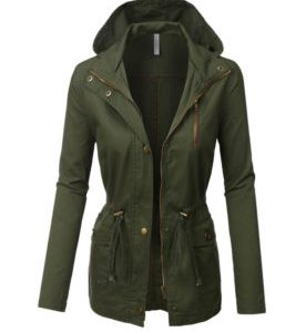kleding webshop laten maken product Military Anorak Safari Jacket