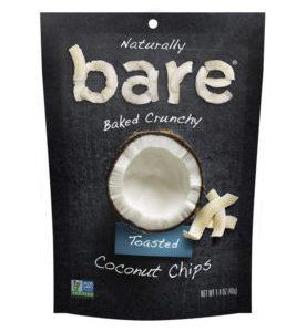 webwinkel laten maken product Bare Natural Coconut Chips