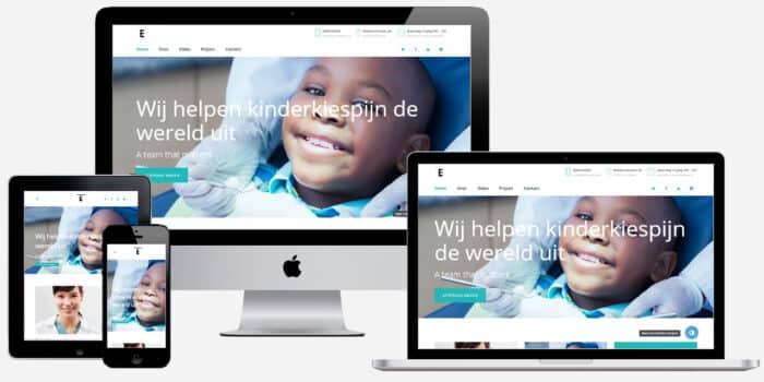 Website voor tandartsenpraktijk